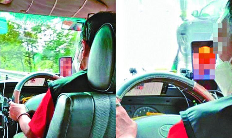 Soferul de taxi si-a socat pasagerii! A fost surprins urmarind filme pentru adulti in timpul cursei
