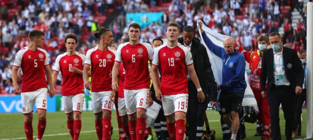 Gestul superb facut de fanii Finlandei pentru Christian Eriksen. Imaginile au facut inconjurul lumii
