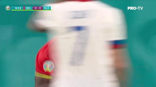 Lukaku a deschis scorul dupa 10 minute in Belgia - Rusia!