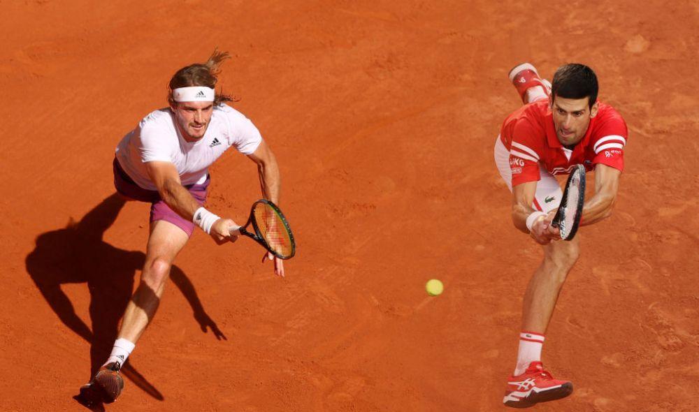 Djokovic vs. Tsitsipas, finala Roland Garros 2021. Liderul ATP are sansa de a veni la un Slam in spatele lui Nadal si Federer. Palmaresul lui Novak Djokovic in finalele de la Paris