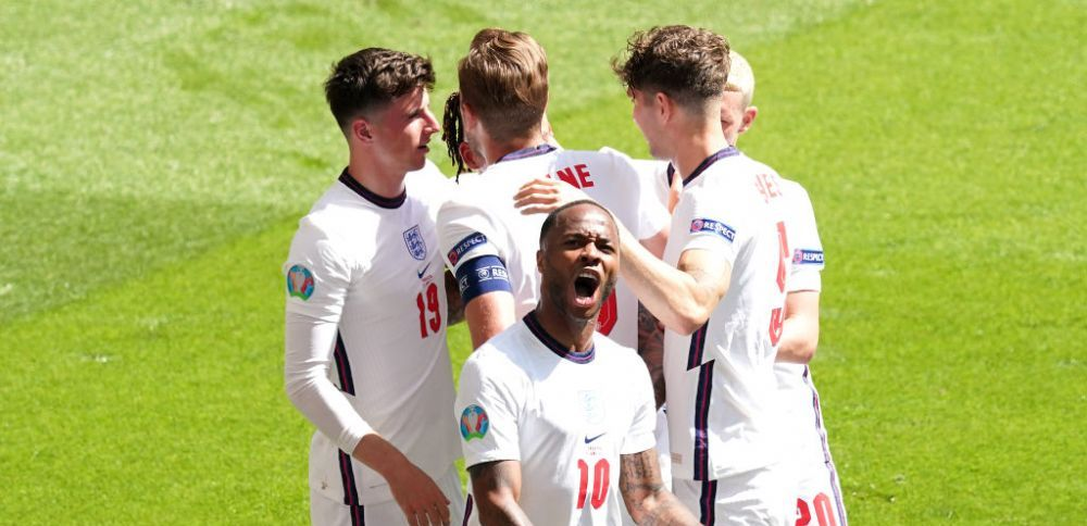 Sunt imaginile momentului de la Anglia - Croatia! Ce s-a intamplat dupa golul lui Sterling