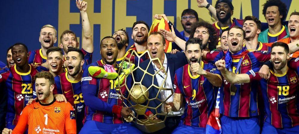 FC Barcelona este noua regina a Europei la handbal! Succes major pentru viitorul antrenor al lui Dinamo