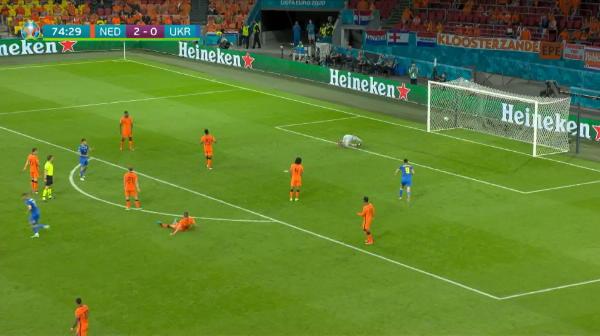 GOOOOOL UCRAINA! Yarmolenko inscrie cel mai frumos gol de la Euro de pana acum cu un sut din afara careului