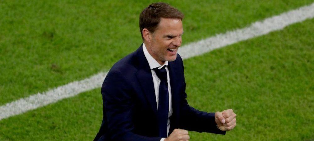 "Frank de Boer, dupa victoria chinuita din meciul cu Ucraina: ""Putem fi mandri de performanta noastra"""