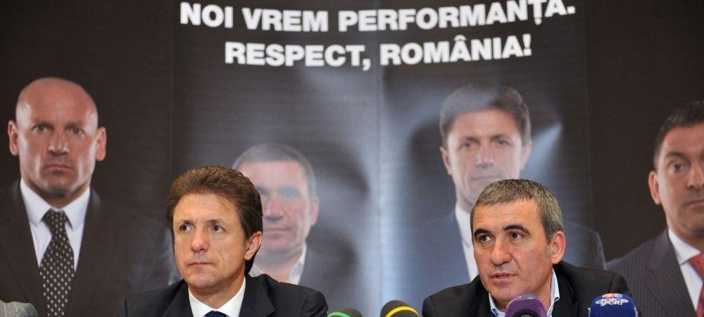 Functia bate gradul! Cum au fost umiliti Hagi, Popescu si Dorinel Munteanu la primul meci organizat de Romania la Euro