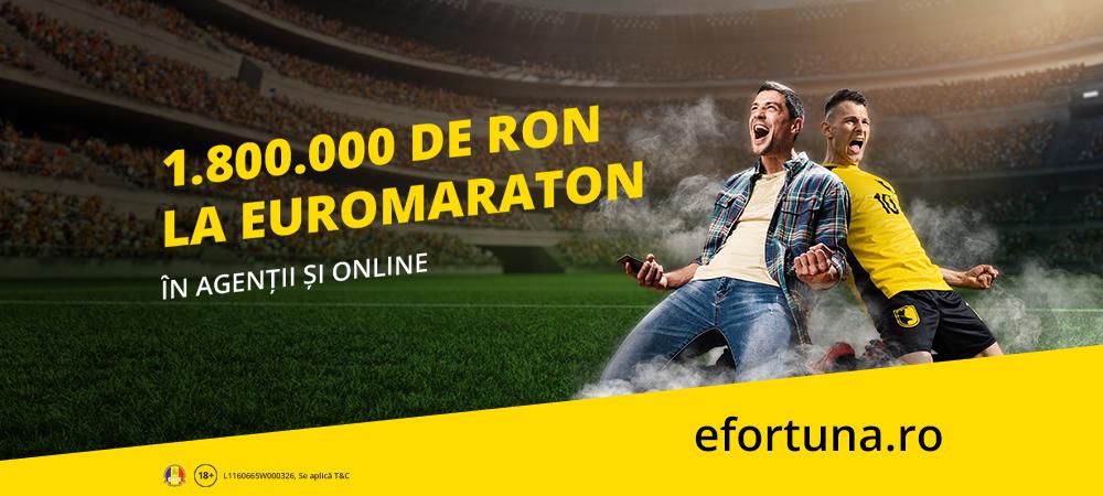 (P) 1.800.000 RON la Euromaraton! Joaca zi de zi si ia-ti partea din premii