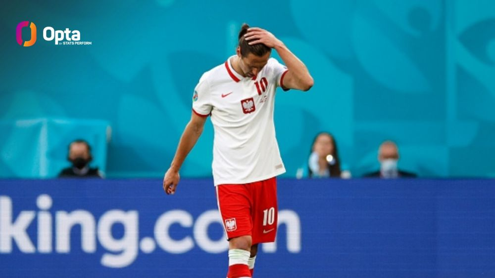 Hategan a dat primul cartonas rosu de la Euro! Krychowiak a parasit terenul in lacrimi
