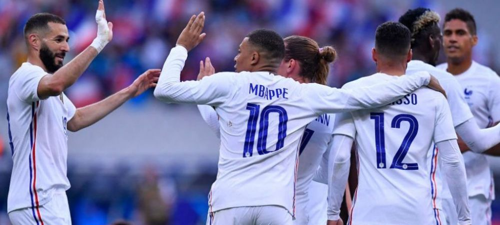 """Benzema si Griezmann, apti pentru primul mare """"soc"""" al Campionatului European! Ultimele noutati din tabara Frantei"""