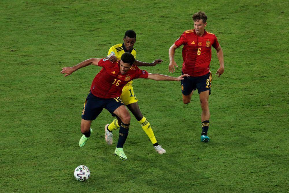 Statistica zdobitoare! Suedia nu a existat in prima parte a meciului cu Spania