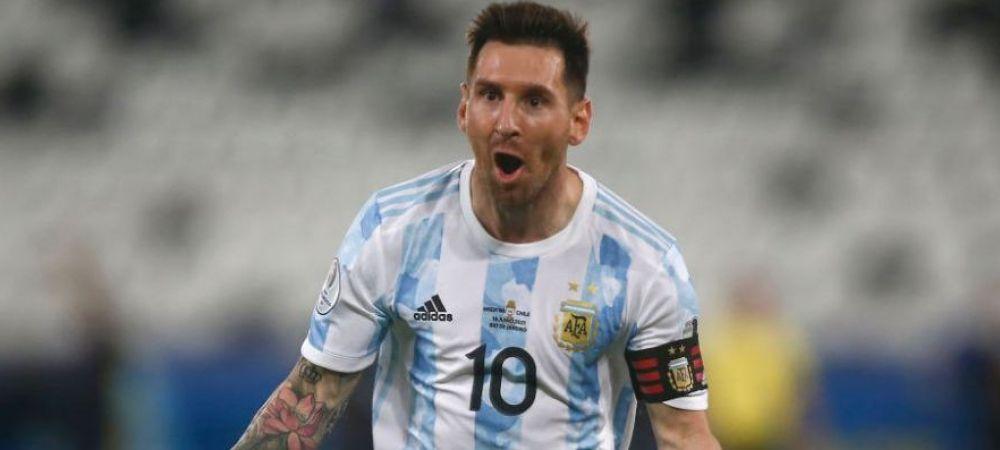 Lionel Messi, primul moment de magie la Copa America! Starul argentinian a marcat un gol magnific in lovitura libera VIDEO