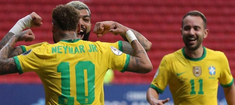 Brazilia nu a avut mila de Venezuela la primul meci de la Copa America! Neymar, gol si assist VIDEO