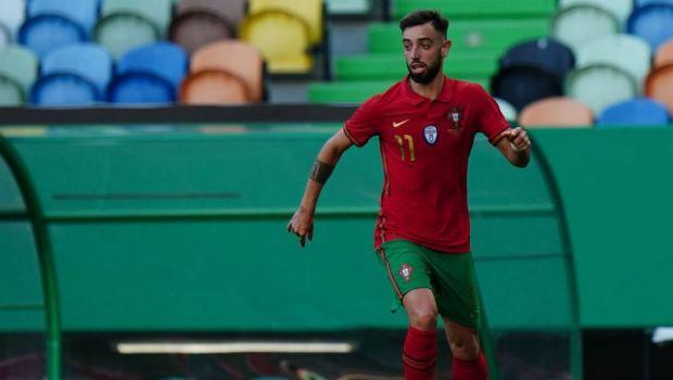 """Drama prin care a trecut Bruno Fernandes: """"Din iunie pana in februarie am trait cu 50 de euro"""". Portughezul e pregatit pentru EURO 2020"""