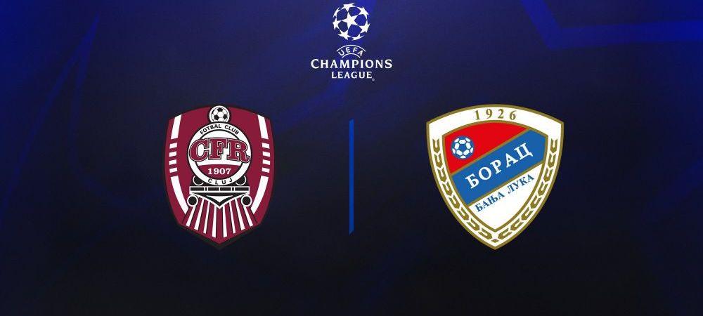 Cine este Borac Banja Luka, adversara Clujului din primul tur preliminar al Champions League! Cat valoreaza cel mai scump jucator al campioanei din Bosnia si Hertegovina