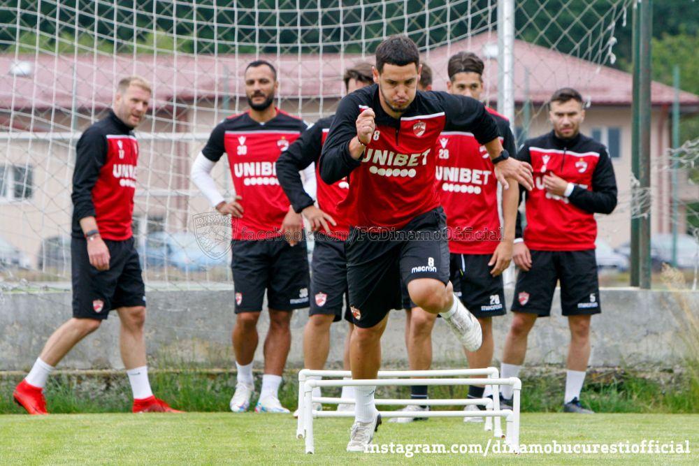 23 de jucatori, la primul antrenament al lui Dinamo! Fabbrini nu s-a prezentat la reunire. Patru fotbalisti s-au departit de