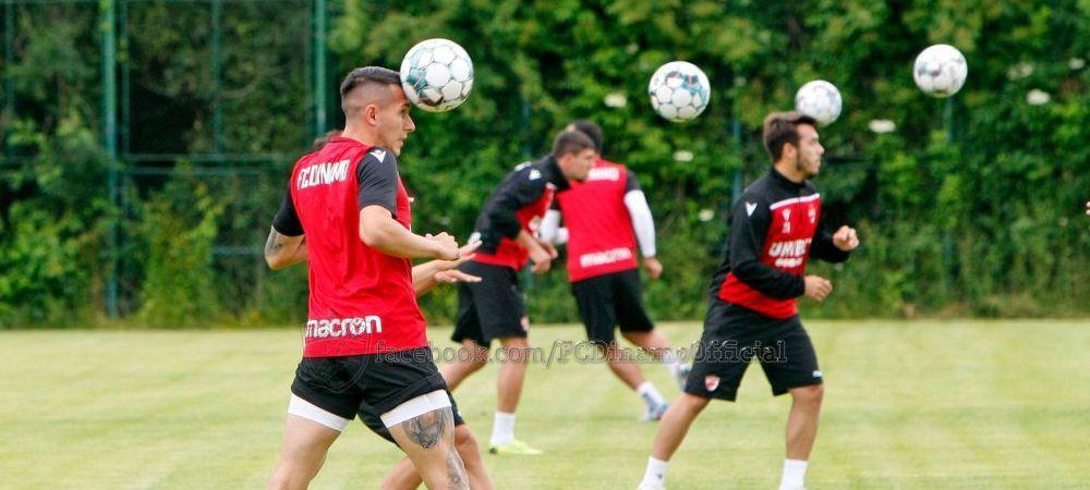 """23 de jucatori, la primul antrenament al lui Dinamo! Fabbrini nu s-a prezentat la reunire. Patru fotbalisti s-au departit de """"caini"""""""