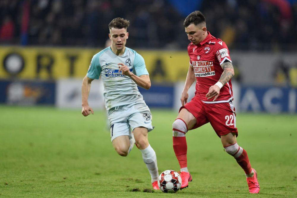 Dinamo a refuzat o oferta uriasa pentru Sorescu! Cine il vrea pe dinamovist si care este salariul cu care este ademenit