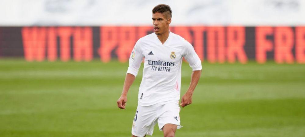 Raphael Varane si-a ales echipa la care vrea sa se transfere! Sefii Realului, instiintati de dorinta fotbalistului