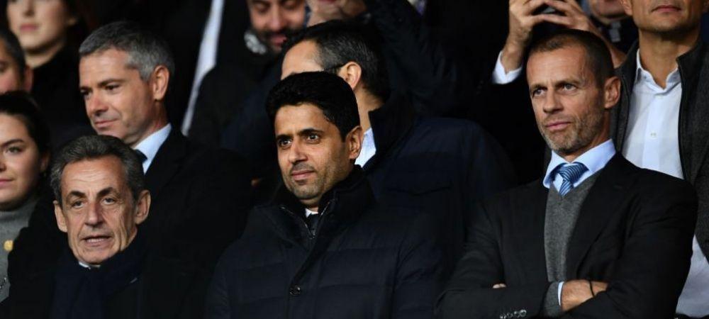 Seicul de la PSG, aranjament cu presedintele UEFA! Ce planuri care implica multi bani au cei doi