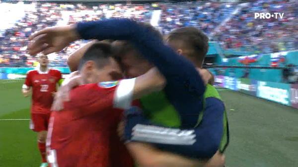 Rusia deschide scorul in meciul cu Finlanda!