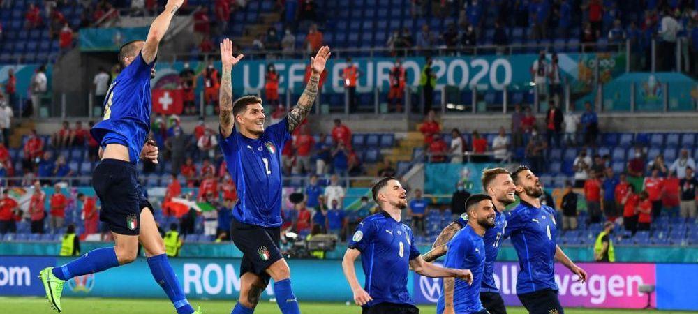 Ii dam deja trofeul Euro? Statistica demolatoare care arata ca Italia e invincibila