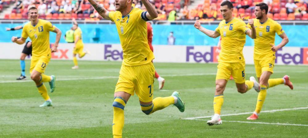 A fost spectacol total pe Arena Nationala! Yarmolenko, omul meciului cu gol si pasa de gol. Doua penalty-uri dictate de arbitrul partidei. Aici ai tot ce s-a intamplat in Ucraina - Macedonia de Nord
