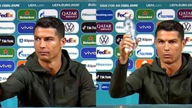 Coca-Cola, prima reactie dupa gestul facut de Cristiano Ronaldo. Ce reactie a avut compania dupa pierderile uriase suferite