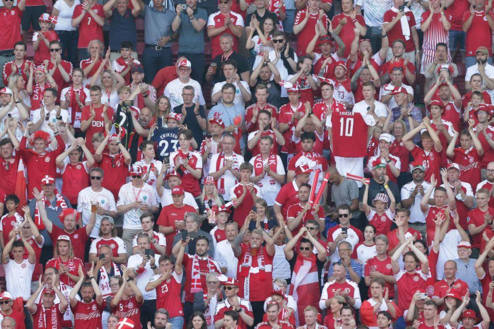 Atmosfera fantastica in Danemarca! Belgienii, coplesiti de entuziasmul unui stadion aproape plin
