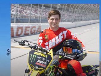 Cascadorul Alex Harvill a murit in timp ce incerca sa doboare recordul mondial la sarituri cu motocicleta