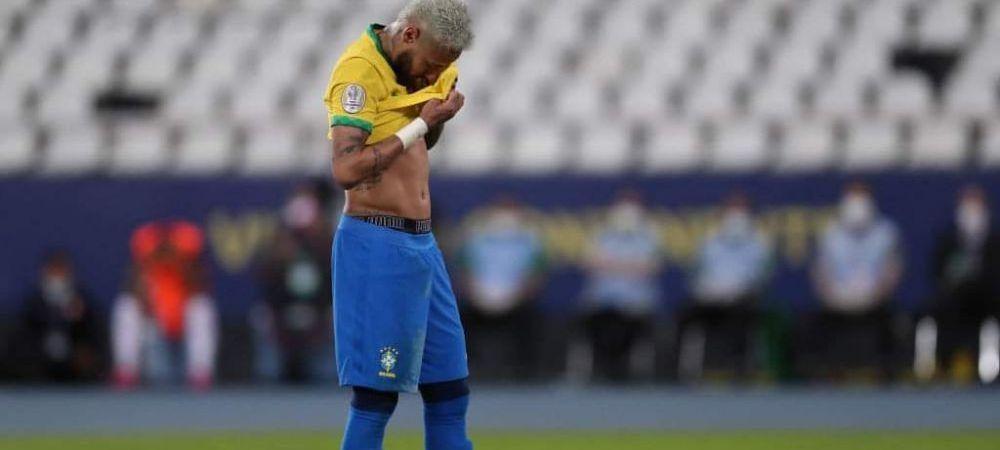 Motivul impresionant pentru care Neymar a izbucnit in lacrimi dupa meciul castigat de Brazilia la Copa America FOTO