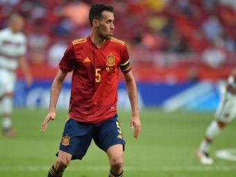 Veste mare pentru Spania! Busquets a fost testat negativ pentru COVID-19 si se va alatura lotului pentru meciurile de la EURO 2020