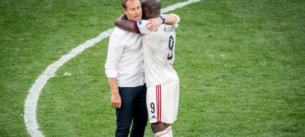 Gestul cu care Romelu Lukaku a impresionat o lume intreaga. Ce a facut la finalul meciului cu Danemarca e impresionant FOTO