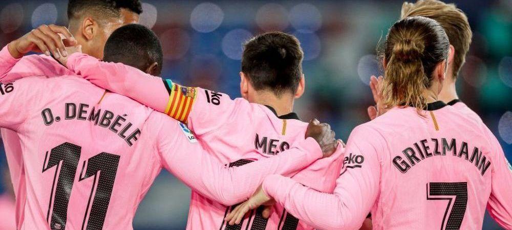 Manchester United a pus ochii pe un star al Barcelonei! Solskjaer il poate scapa pe Laporta de un jucator-problema