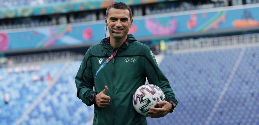 Ovidiu Hategan va arbitra un meci important de la EURO! Miza va fi primul loc in grupa