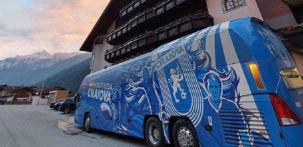 CSU Craiova a plecat in Austria cu un avion personalizat! Vor sta intr-un hotel renumit