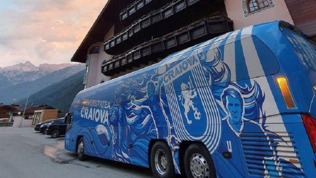 CSU Craiova a plecat in Austria cu un avion personalizat! Jucatorii lui Ouzounidis vor sta intr-un hotel renumit
