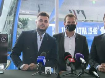 """""""E un fel de Maybach al autocarelor!"""" FCU Craiova si-a prezentat noua 'bijuterie' cu care echipa se va deplasa! Cum arata autocarul de peste jumatate de milion de euro"""