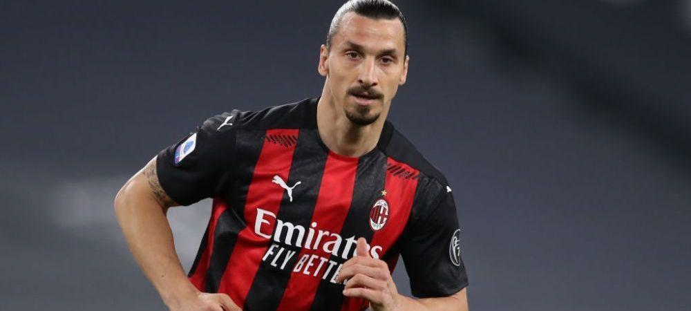 Oficialii lui AC Milan: Ibrahimovic s-a operat! Cand se intoarce pe teren atacantul suedez