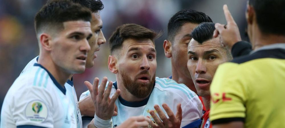 """""""La naiba!"""" Imaginea zilei! Cum a aparut Messi la scurt timp dupa victoria in fata Uruguayului lui Suarez"""