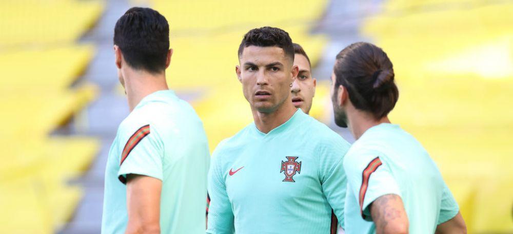 Portugalia - Germania, LIVE VIDEO, de la 19:00   Ronaldo si compania incearca sa-i trimita acasa pe nemti