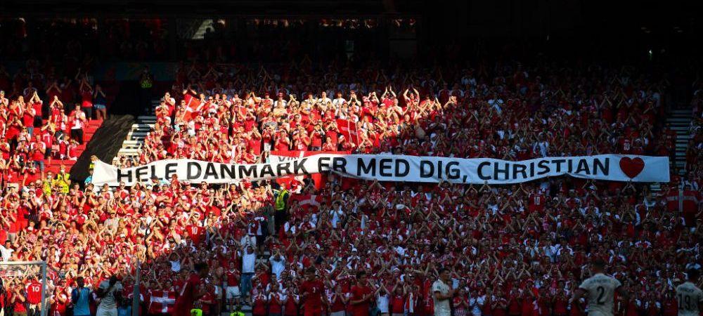 """""""A fost fantastic să-l vedem!"""" Reactia fotbalistilor danezi dupa ce Eriksen i-a vizitat in cantonament"""