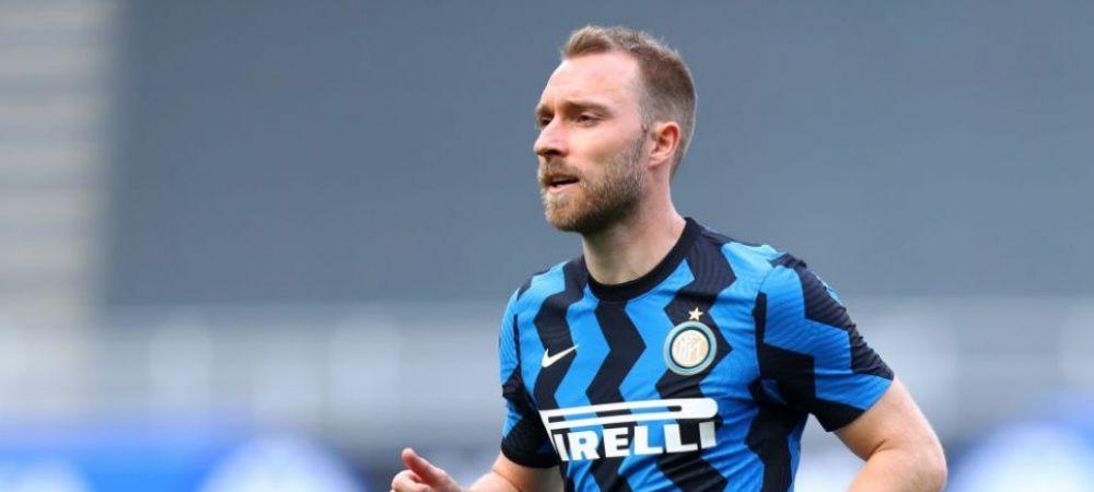 "Inter Milano, mesaj emotionant dedicat lui Christian Eriksen! ""Ne-am trezit din cel mai groaznic vis"""