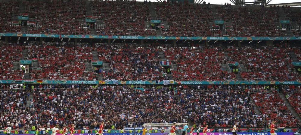 Suporterii unguri le dau clasa tuturor celorlalti! Atmosfera incredibila si la meciul cu Franta