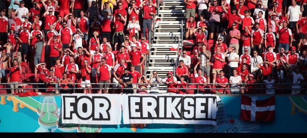 """""""Aveam nevoie de asta!"""" Eriksen si-a surprins coechipierii si a mers la antrenamentele nationalei dupa ce a iesit din spital! Ce au spus jucatorii"""