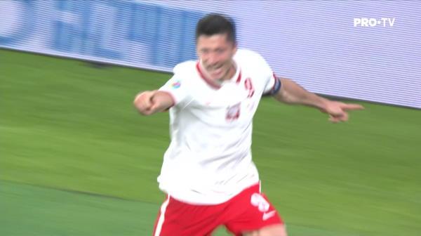 GOOOOL POLONIA! Lewandowski egaleaza cu capul