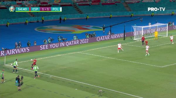 Faza la care Luis Enrique si-a pus mainile in cap! Moreno a ratat penalty pentru Spania, iar Morata a trimis pe langa poarta goala