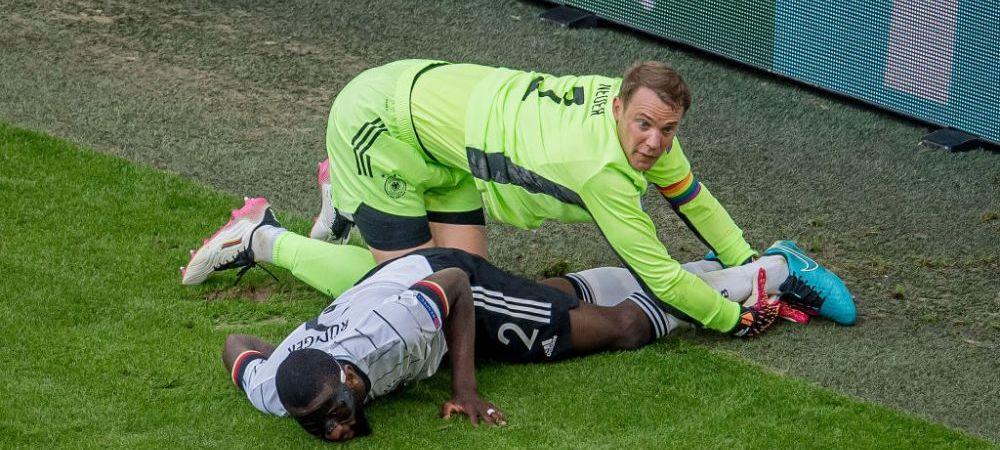Imaginea care a starnit mii de reactii pe internet. Cum a fost surprins Neuer in timpul meciului cu Portugalia