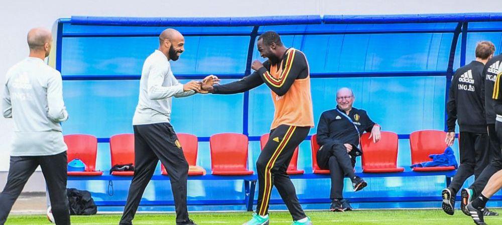 Thierry Henry, ca pe vremea in care juca la Arsenal si Barcelona! De Bruyne si Lukaku au ramas masca
