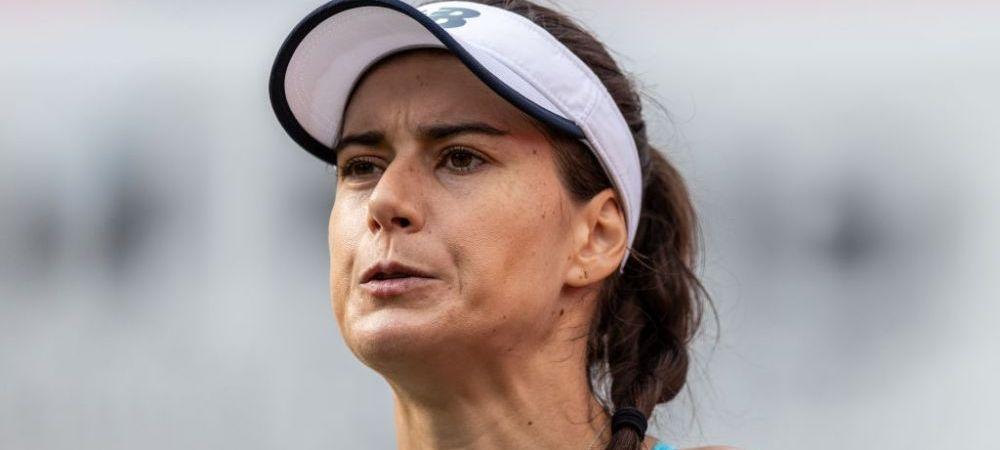 """""""Asta nu e box, suntem la tenis!"""" Sorana Cirstea, facuta knock-out cu o minge de tenis in timpul meciului cu Andrea Petkovic de la Bad Homburg"""