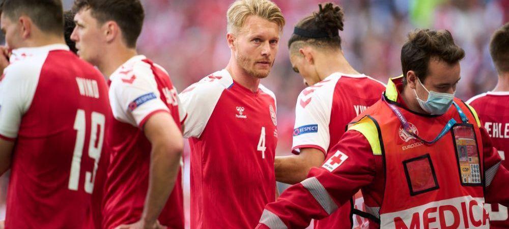 """Simon Kjaer a vorbit despre ziua in care Eriksen s-a prabusit pe teren: """"Nu voi uita niciodata acea zi"""""""