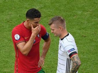 Kroos da din casa :): ce a vorbit cu Cristiano Ronaldo dupa thrillerul Germania - Portugalia